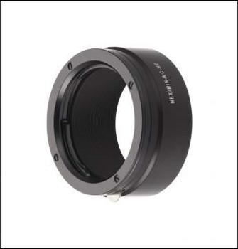 Novoflex NEX/MIN-MD Adapter - Minolta MD Lenses to Sony E-Mount. Availability 7 to 14 days.