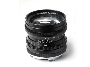 Voigtlander 50mm f1.5 Nokton Asph Lens - M Mount (Black)