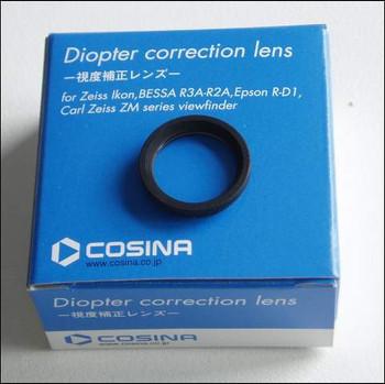 Voigtlander Eyepiece Correction lens. Choose dioptre from drop down list