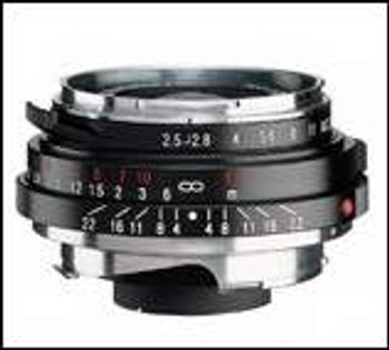 Voigtlander 35mm f/2.5 Color Skopar PC-II Lens - M Mount (More Coming Soon)