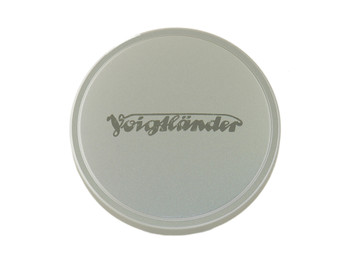 Voigtlander Front Lens Cap - 43.5mm (Metal - Chrome)