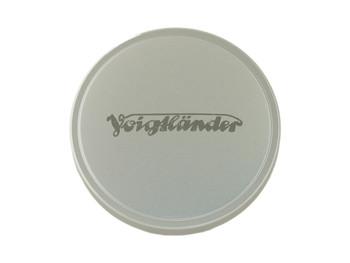 Voigtlander Front Lens Cap - 55.8mm (Metal - Chrome)
