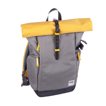 Zkin Getaway Backpack Camera Bag - Yali Yellow Grey