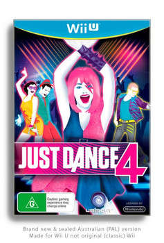 Just Dance 4 for Nintendo Wii U