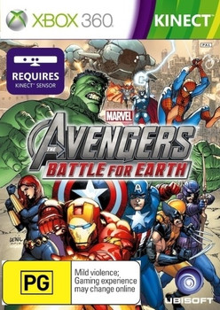 Marvel the Avengers: Battle for Earth for Xbox 360 Kinect