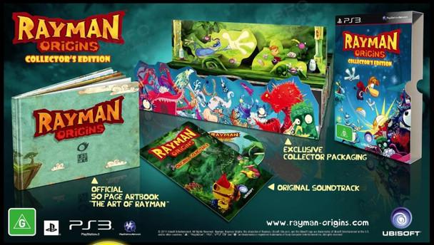 Rayman Origins Collectors Edition (PS3) Rare ANZ Version
