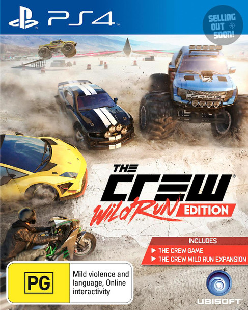 The Crew Wild Run Edition (PS4) Game Australian Edition