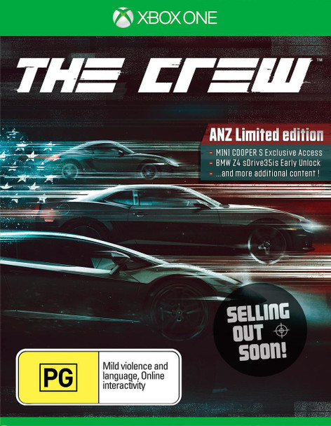 The Crew ANZ Limited Edition (Xbox One) Game Australian Edition