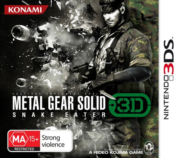 Metal Gear Solid: Snake Eater 3D for Nintendo 3DS