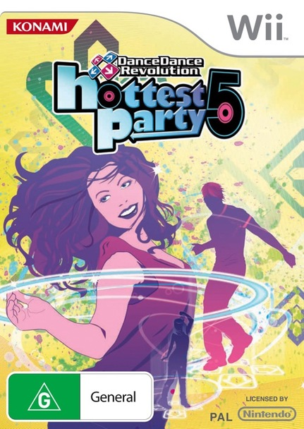 DanceDanceRevolution Hottest Party 5 for Nintendo Wii