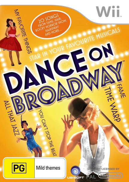 Dance on Broadway (Wii) (Wii U)