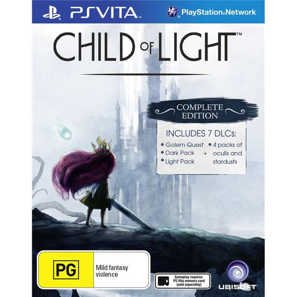 Child Of Light Complete Edition (Vita) Rare Australian Version