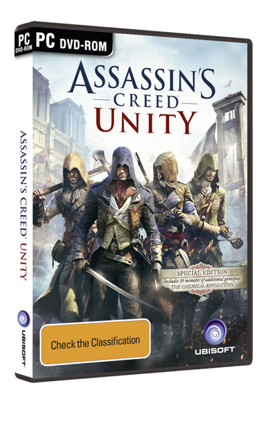 Assassin's Creed Unity Special Edition (PC) First Pressing Australia