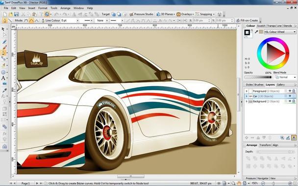Serif Drawplus X6 - Digital art and design made easy