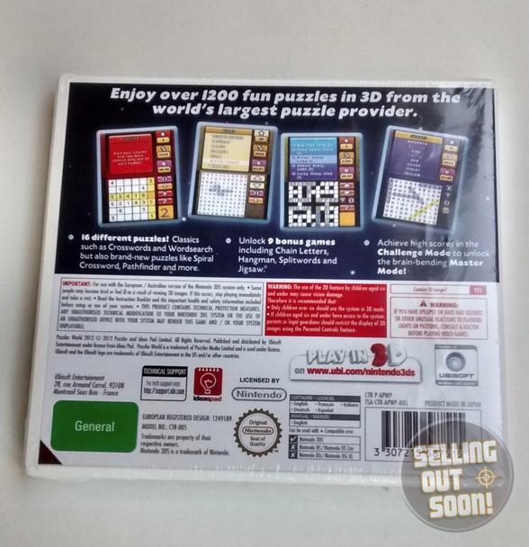 Puzzler 3D World (Nintendo 3DS 2DS 3DSXL n3DS)