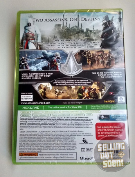 Assassin Creed Revelations (Xbox 360) Australian Version Classics
