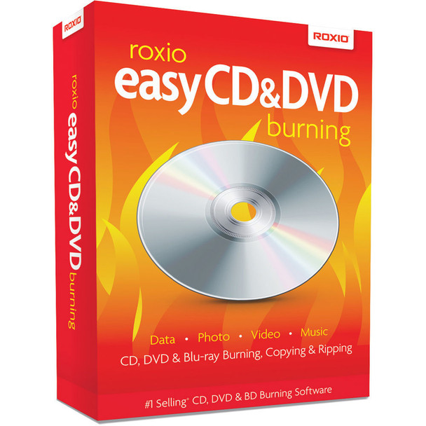 Roxio Easy CD & DVD + Blu-Ray Burning Copying & Ripping (PC)