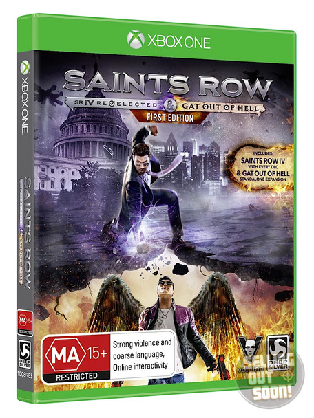 Saints Row IV Re-Elected + Gat Out Of Hell FIRST EDITION (Xbox One) Australian