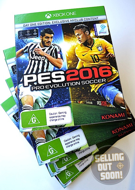 Pro Evolution Soccer 2016 (Xbox One) PAL Day One Edition PES 16