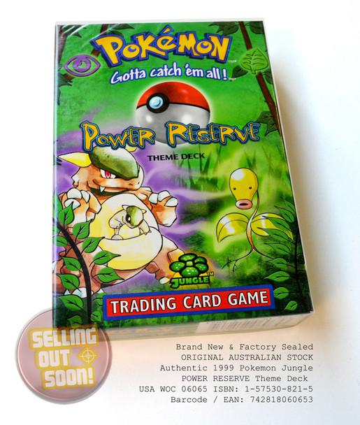 Pokemon Jungle Theme Deck POWER RESERVE (circa 1999)