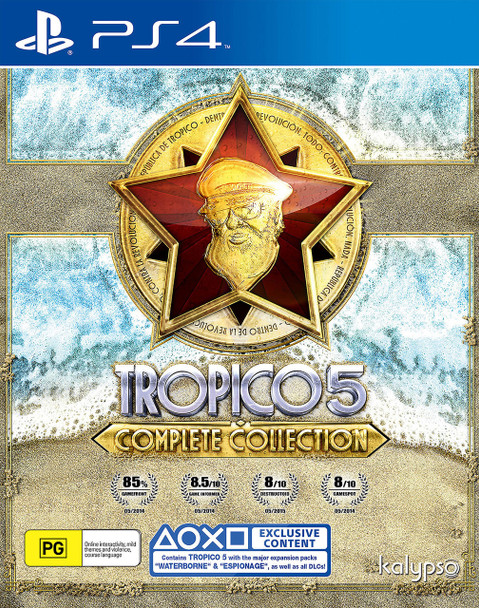 Tropico 5: Complete Collection (PS4)  PAL Version