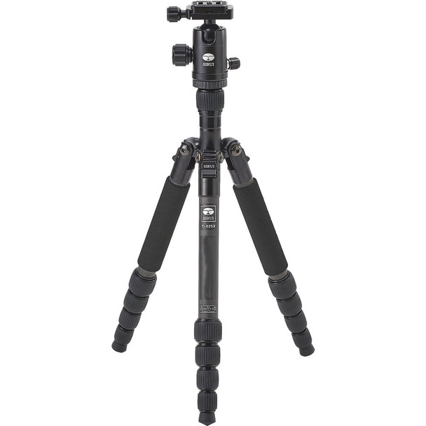 Sirui T-025X Carbon Fibre Tripod + C-10S Ball Head Kit + 6 Year Australian warranty