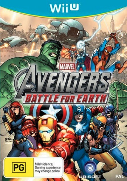 Marvel the Avengers: Battle for Earth for Nintendo WII U