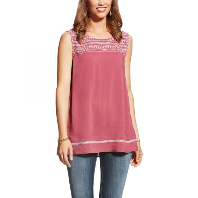 Too Busy Tunic Hawthorn Rose
