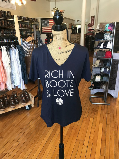 Rich in Boots & Love
