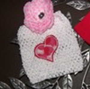 Heart Applique Clippie