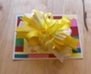 ABC Yellow Bow