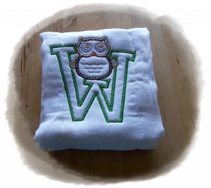 Owl Alpha Burp Cloth