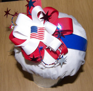 Patriotic Flag Headband
