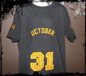 October 31 Boy Sports shirt
