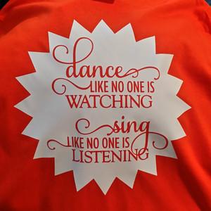 Dance like no one is watching