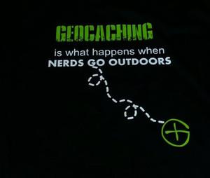 Geocaching Nerd shirt