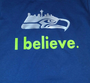 I Believe Shirt Seahawks