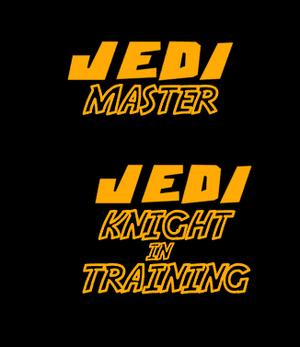 Jedi Master or knight in training