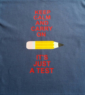 Keep Calm and Carry on Test shirt