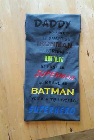 Daddy Superman shirt