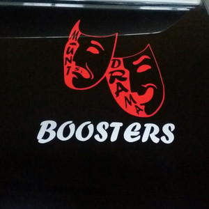 Mount Si  Drama BOOSTERS Window Cling