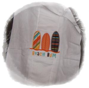Surf Board Burp Cloth