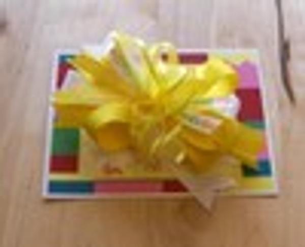 ABC Yellow Bow