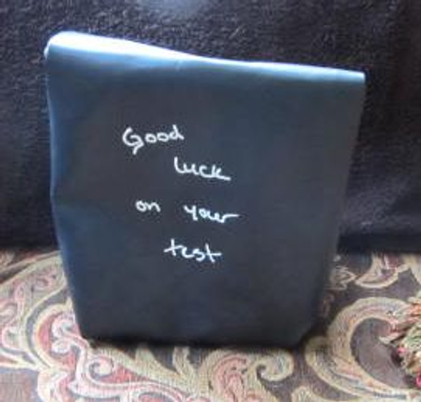 Chalkboard Lunch bag