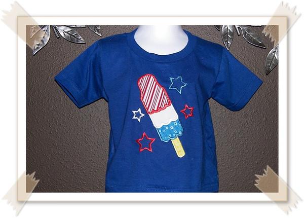 Popsicle Patriotic Shirt