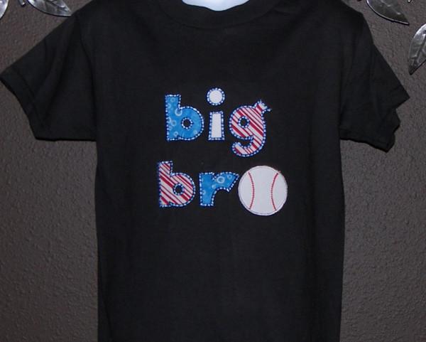 Big Bro  lil bro baseball shirt ,