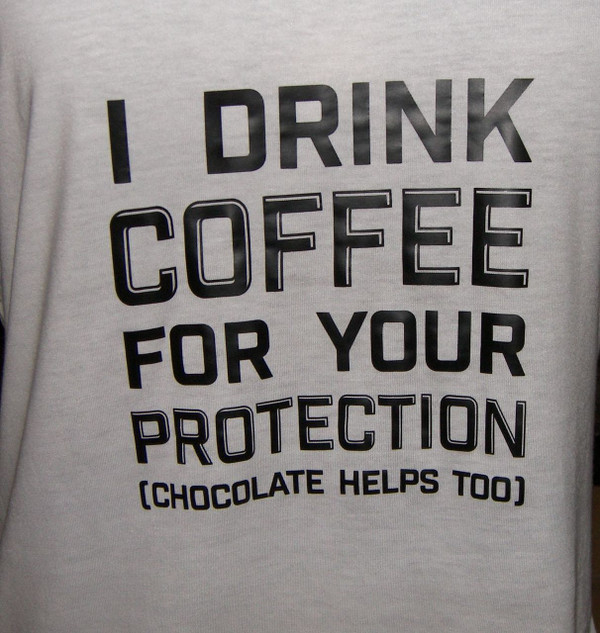 I DRINK COFFEE Shirt