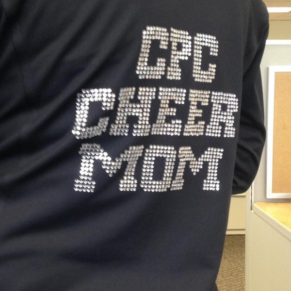 MOM Cheer Bling Jacket