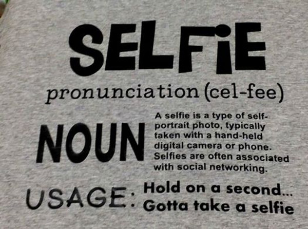 Selfie shirt