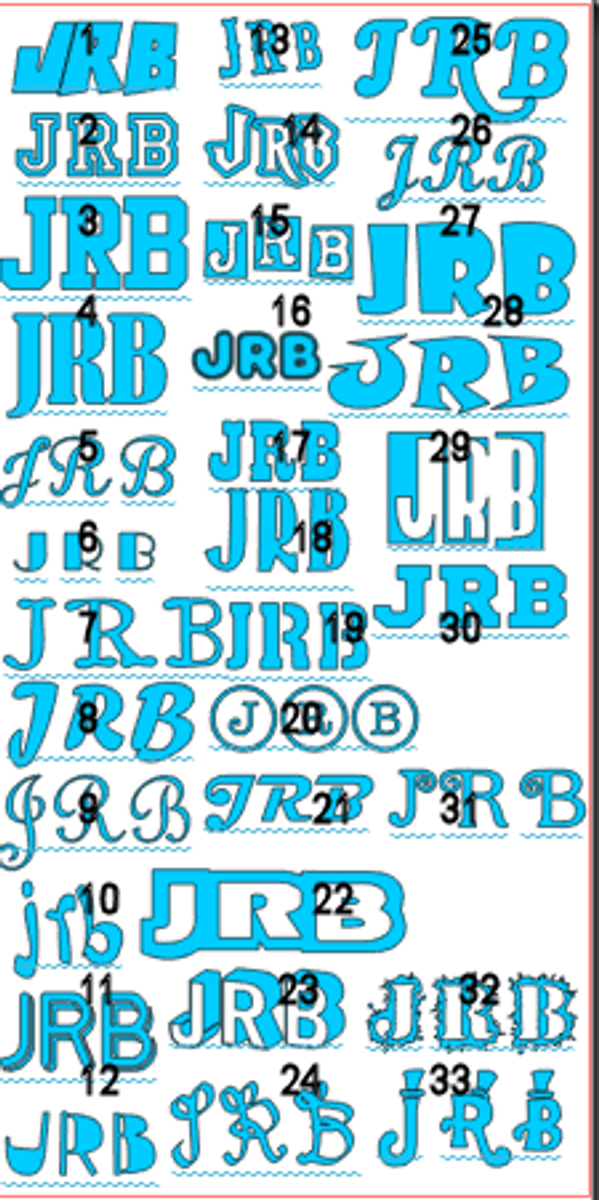 Binkie Personalized   Decals